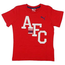 Tees / Short Sleeve: Puma Arsenal 14/15 Fans Tee 746944-01 - Puma / Xs / Red / 1415 Arsenal Clothing Fans Wear Football |