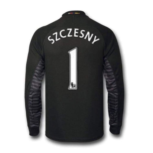 Jerseys / Soccer: Puma Arsenal 14/15 (H) GK L/S Jersey 746377-29 #1 SZCZESNY - Puma / M / Black / 1415, ARSENAL, Black, Clothing, Football |