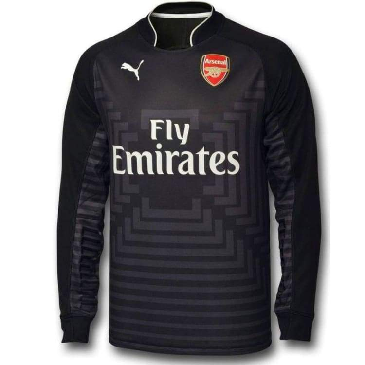 Jerseys / Soccer: Puma Arsenal 14/15 (H) Gk L/s Jersey 746377-29 - Puma / Xs / Black / 1415 Arsenal Black Clothing Football |