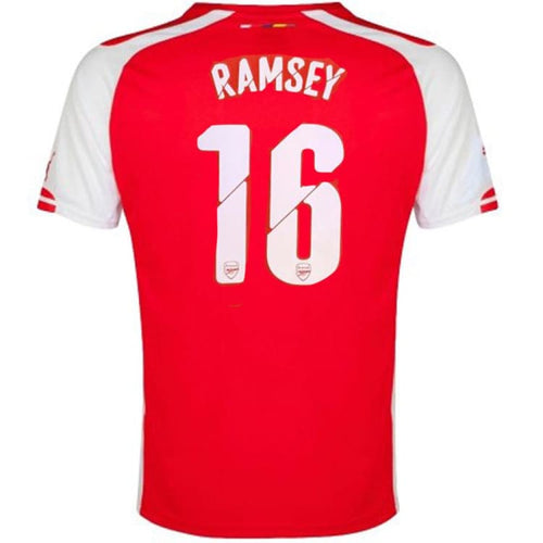 Jerseys / Soccer: Puma Arsenal 14/15 (H) S/S 746446-01 #16 RAMSEY - Puma / M / Red / 1415, ARSENAL, Clothing, Football, Home Kit |