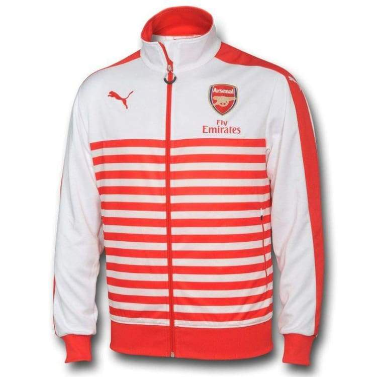 Jackets / Track: Puma Arsenal 14/15 T7 Anthem Jacket 746936-01 - Puma / Xs / Red / 1415 Arsenal Clothing Football Jackets |