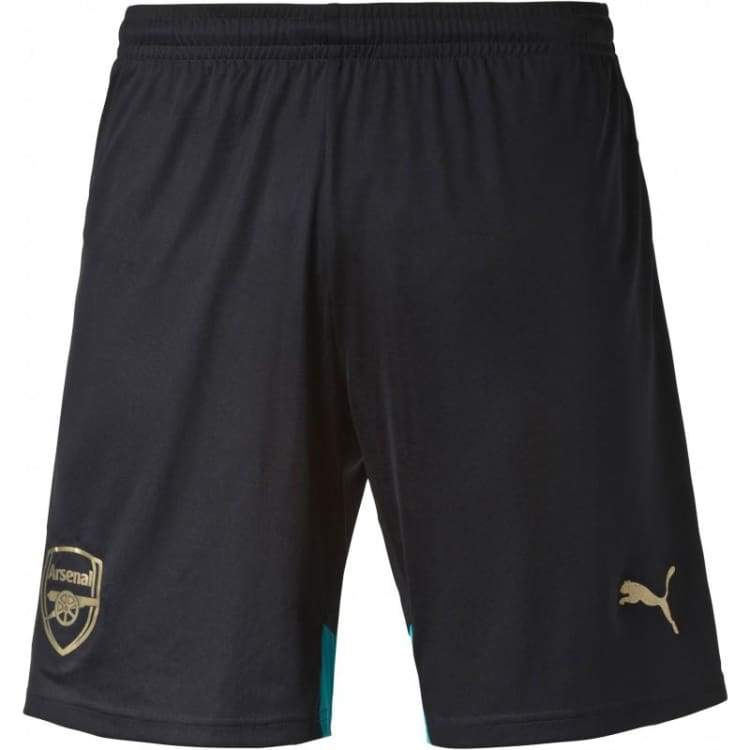 Shorts / Soccer: Puma Arsenal 15/16 (3Rd) Shorts 747572-04 - Puma / Xs / Black / 1516 Arsenal Black Clothing Football |