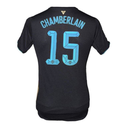 Jerseys / Soccer: Puma Arsenal 15/16 (3rd) S/S 747570-04 #15 CHAMBERLAIN - Puma / S / Blue / 1516, ARSENAL, Blue, Clothing, Football |