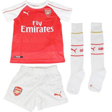 Jerseys / Soccer: Puma Arsenal 15/16 (H) Minikit With 747583-01 - Puma / Kids: 92 / 1516 Arsenal Clothing Football Home Kit |