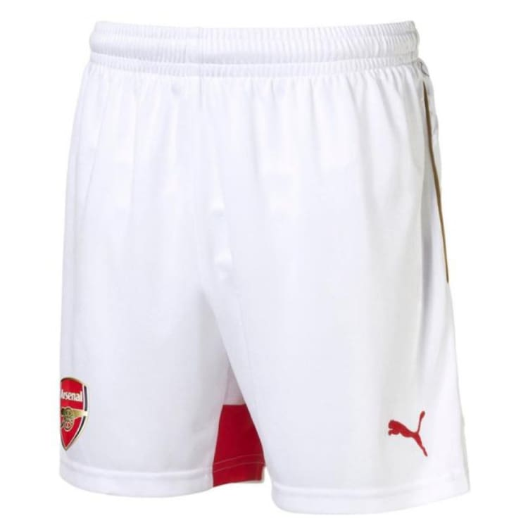 Shorts / Soccer: Puma Arsenal 15/16 (H) Shorts 747572-02 - Puma / M / White / 1516 ARSENAL Clothing Football Home Kit |