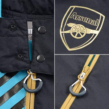 Jackets / Rain: Puma Arsenal 15/16 Rain Jacket 747627-04 - 1516 Arsenal Blue Clothing Football