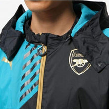 Jackets / Rain: Puma Arsenal 15/16 Rain Jacket 747629-04 - 1516 Arsenal Blue Clothing Football