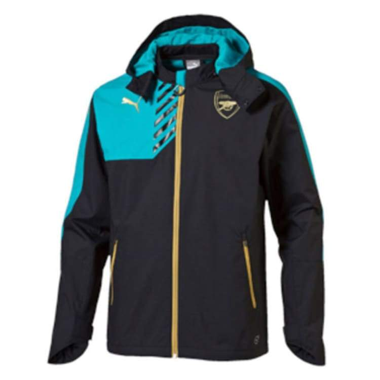Jackets / Rain: Puma Arsenal 15/16 Rain Jacket 747629-04 - Puma / Xs / Blue / 1516 Arsenal Blue Clothing Football |