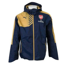 Jackets / Rain: Puma Arsenal 15/16 Rain Jacket Bk 747630-03 - Puma / Xs / Navy / 1516 Arsenal Clothing Football Jackets |
