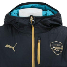 Jackets / Track: Puma Arsenal 15/16 Reversible Soccer Jacket 747601-04 - 1516 Arsenal Black Clothing Football