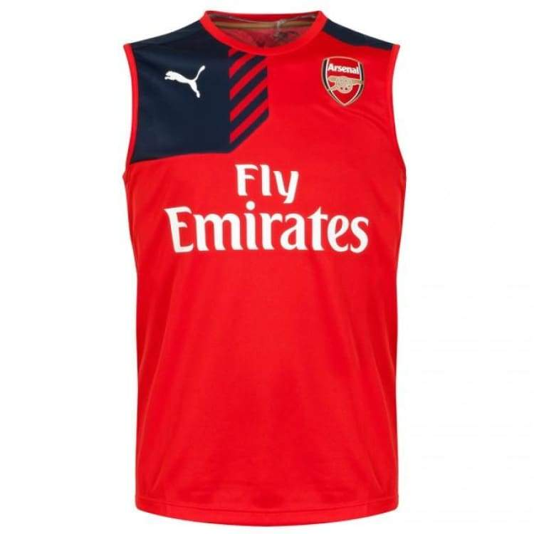 detailing ee820 1e11b Puma Arsenal 15/16 Vest Training Jersey 747616-01