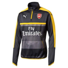 Tops / Warm Up: Puma Arsenal 16/17 1/4 Training Top - Sa Gry-Yel 749746-03 - Puma / Xs / Black / 1617 Arsenal Black Clothing Football |