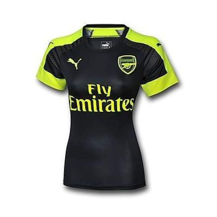 Jerseys / Soccer: Puma Arsenal 16/17 (3Rd) Women S/s Jersey 749728-05 - Puma / Xs / 1617 Arsenal Clothing Football Jerseys |