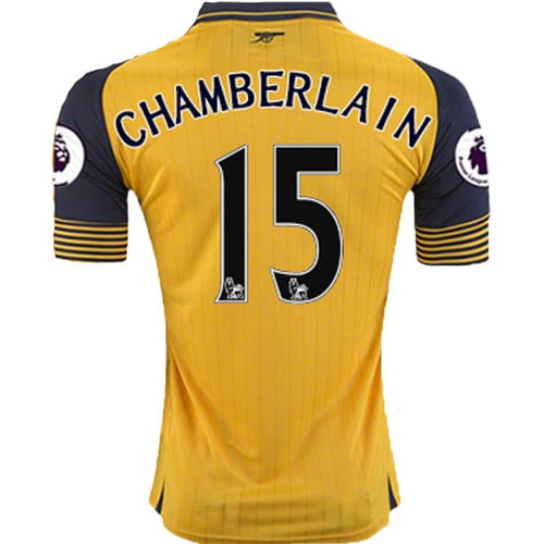Jerseys / Soccer: Puma Arsenal 16/17 Away S/S Jersey 749714-03 #15 CHAMBERLAIN - 1617, ARSENAL, Away Kit, Clothing, Football |
