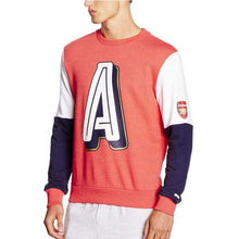 Hoodies & Sweaters: Puma Arsenal 16/17 Fan Style Sweater Red 750447-05 - 1617 Arsenal Clothing Fans Wear Football