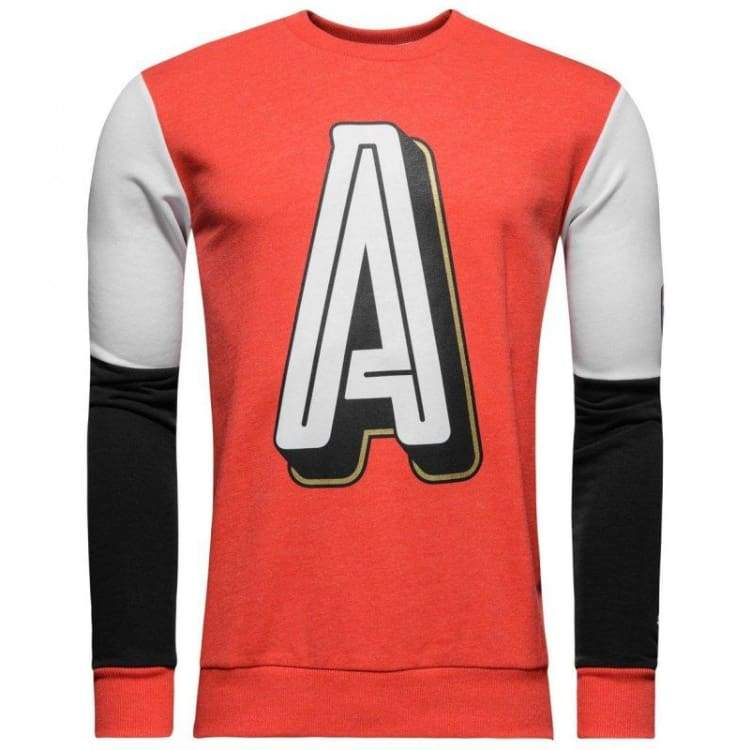 Hoodies & Sweaters: Puma Arsenal 16/17 Fan Style Sweater Red 750447-05 - Puma / Xs / Red / 1617 Arsenal Clothing Fans Wear Football |