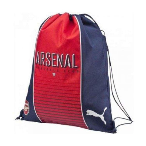Bags / Sack Pack: Puma Arsenal 16/17 Fanwear Gym Sack Rd 073903-01 - Puma / Red/navy / 1617 Accessories Arsenal Bags Bags / Sack Pack |