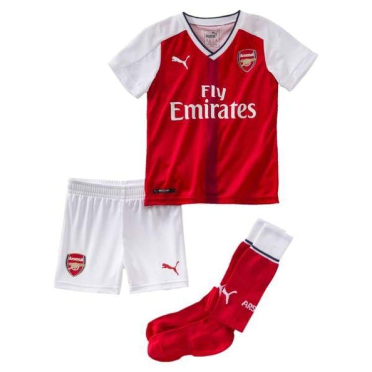 Jerseys / Soccer: Puma Arsenal 16/17 (H) Mini Kit 749730-01 - Puma / Kids: 92 / Red / 1617 Arsenal Clothing Football Home Kit |