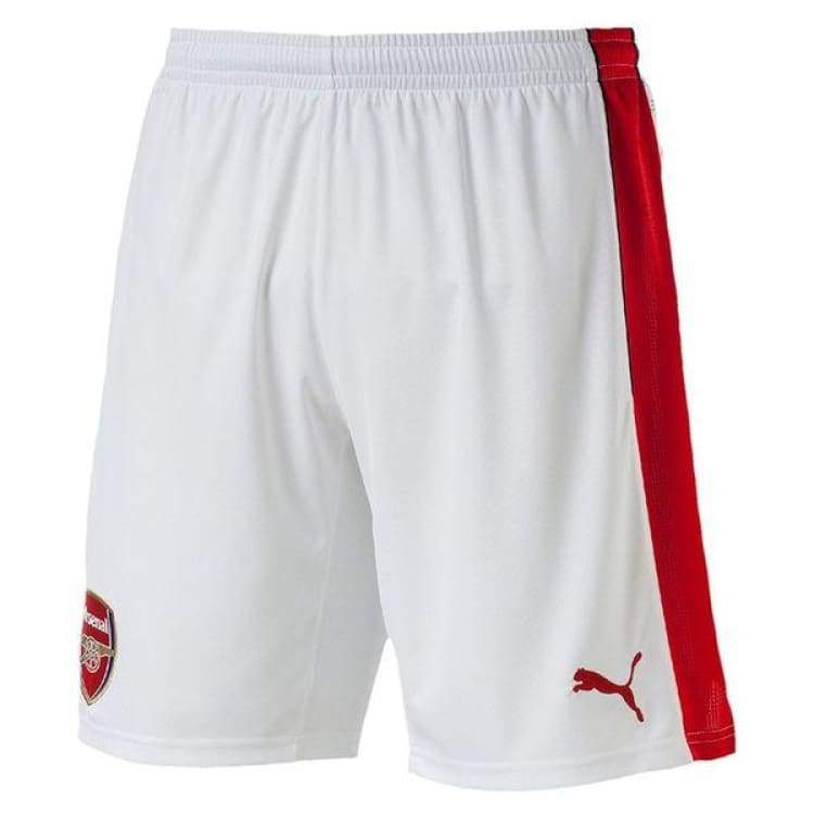 Shorts / Soccer: Puma Arsenal 16/17 (H) Shorts 749718-01 - Puma / Xs / White / 1617 Arsenal Clothing Football Home Kit |