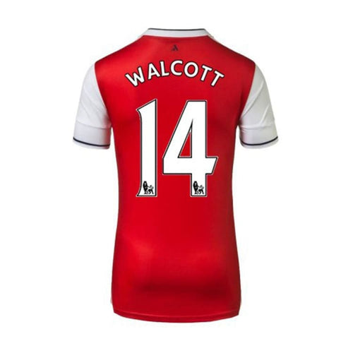 Jerseys / Soccer: Puma Arsenal 16/17 Home S/S Jersey 749712-01 #14 WALCOTT - 1617, ARSENAL, Clothing, Football, Home Kit |