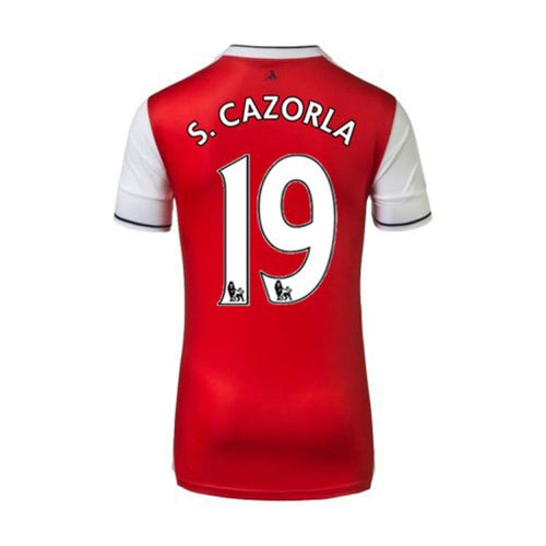 Jerseys / Soccer: Puma Arsenal 16/17 Home S/S Jersey 749712-01 #19 S.CAZORLA - 1617, ARSENAL, Clothing, Football, Home Kit |