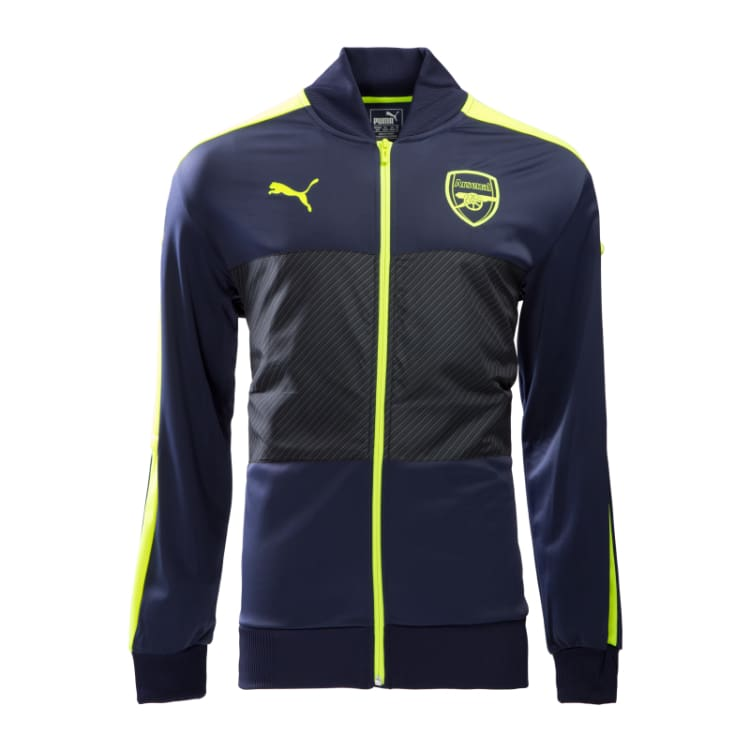 Jackets / Track: Puma Arsenal 16/17 Stadium Jacket 749737-12 - Puma / XL / Navy / 1617 ARSENAL Clothing Football Jackets |