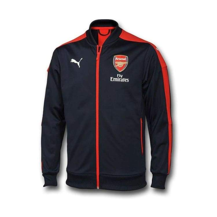 Jackets / Track: Puma Arsenal 16/17 Stadium Jacket 749738-02 - Puma / Xs / 1617 Arsenal Clothing Football Jackets | Ochk-Sfalo-749738-02-Xs