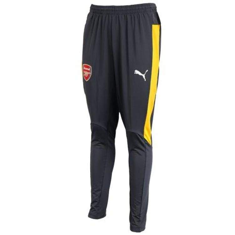 Pants / Training: Puma Arsenal 16/17 Training Pant Tapered 75073902 - Puma / Xs / Yellow / 1617 Arsenal Clothing Football Land |