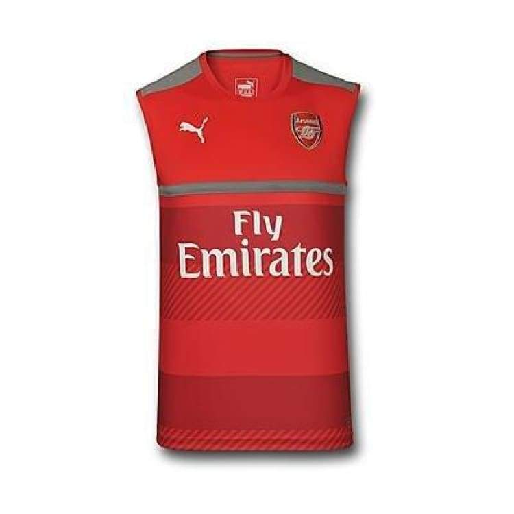 Jerseys / Soccer: Puma Arsenal 16/17 Vest Training Jersey 749752-10 - Puma / Xs / Red / 1617 Arsenal Clothing Football Jerseys |