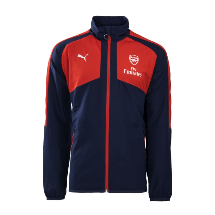 Jackets / Track: Puma Arsenal 16/17 Woven Jacket W/O Sponsor 749788-02 - Puma / S / 1617 ARSENAL Clothing Football Jackets |