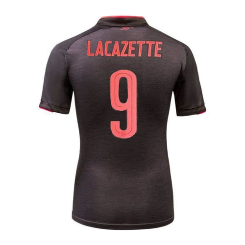 Jerseys / Soccer: PUMA Arsenal 17/18 3RD S/S Jersey 751515-06 #9 LACAZETTE - Puma / L / Dark Gray Heather / 1718, ARSENAL, Clothing, Dark