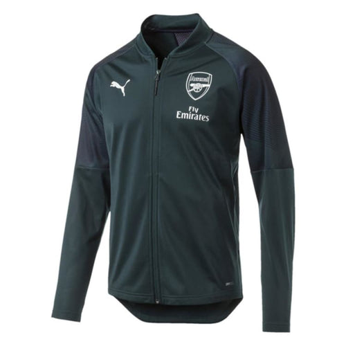 Jackets / Track: Puma Arsenal FC 2018 Stadium Jacket 754629-03 - XS / Red / Puma / 2018 ARSENAL Clothing Fans Wear Football |