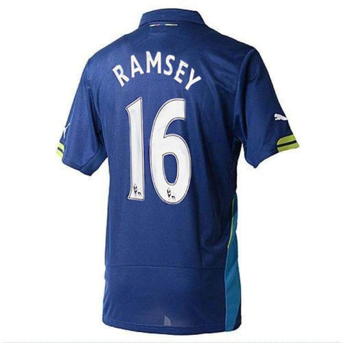 Jerseys / Soccer: Puma Arsenal Shirt 14/15 (3RD) S/S 746452-04 #16 RAMSEY with EPL Nameset - Puma / M / Blue / 1415, ARSENAL, Blue,