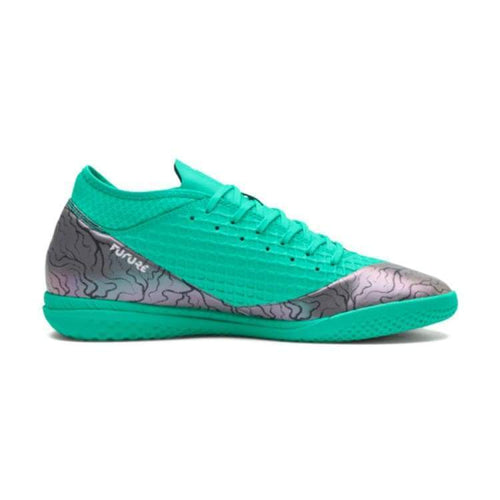 Shoes / Soccer: Puma Boots Future 2.4 It 104842-01 - Puma / Uk: 7.0 / Shift/green / Football Footwear Land Mens Puma |