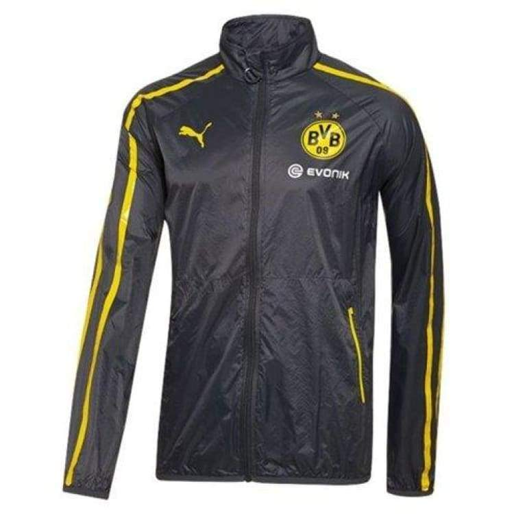 Jackets / Track: Puma Bvb 14/15 Walk-Out Jacket 745832-02 - L / Puma / 1415 Borussia Dortmund Bvb Clothing Football | Ochk-Sfalo-745832-02-L