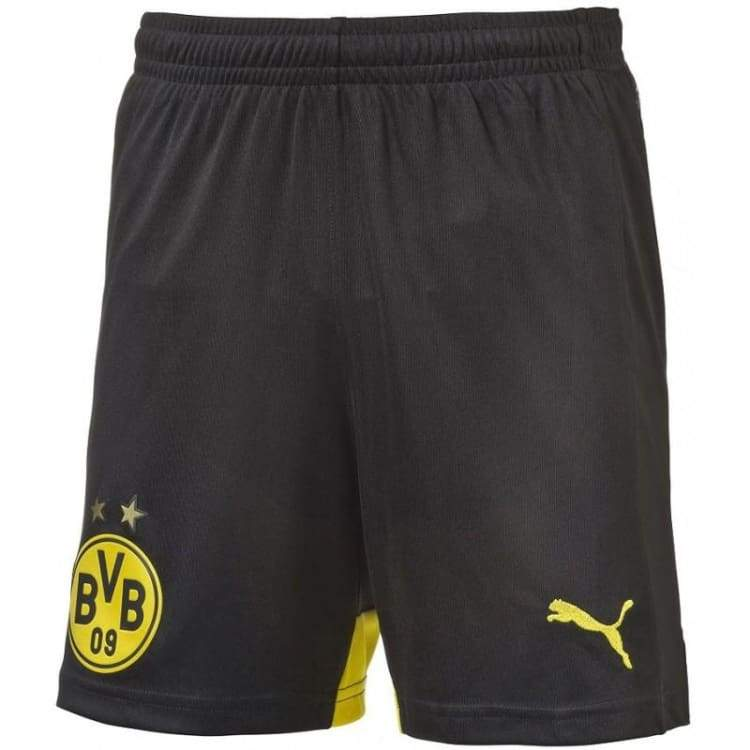 Shorts / Soccer: Puma Bvb 15/16 (H) Replica Shorts Bk 747999-02 - Xs / Puma / 1516 Borussia Dortmund Bvb Clothing Football |