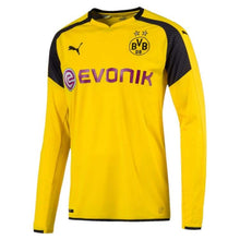 Jerseys / Soccer: Puma Bvb 16/17 International Cup Jersey (H) L/s 749826-11 - Puma / Xs / Yellow / 1617 Borussia Dortmund Bvb Clothing