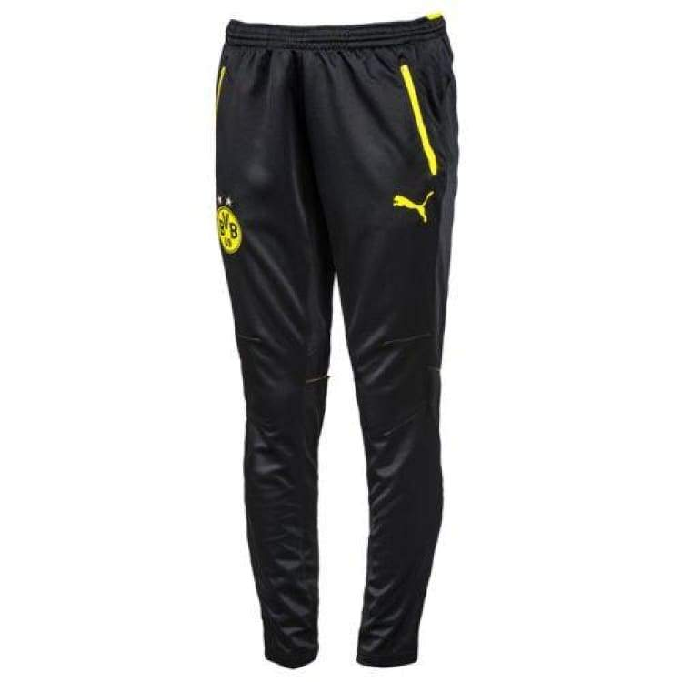 Pants / Training: Puma Bvb 16/17 Training Pants Blk-Yel 749863-02 - Puma / Xs / Yellow / 1617 Borussia Dortmund Bvb Clothing Football |
