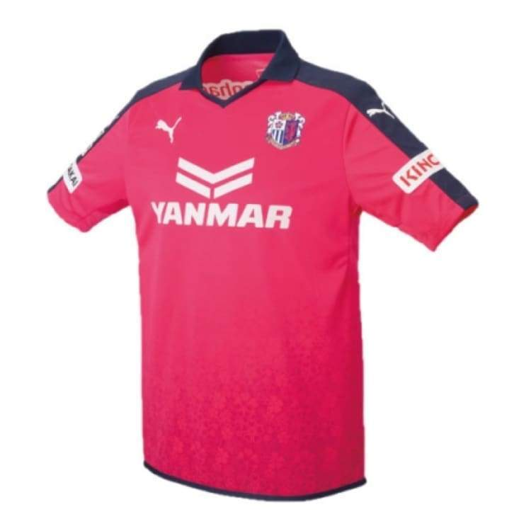 Jerseys / Soccer: Puma Cerezo Osaka 15/16 Home S/s Jersey 920324-01 - Puma / S / Pink / 1516 Cerezo Osaka Clothing Football Home Kit |
