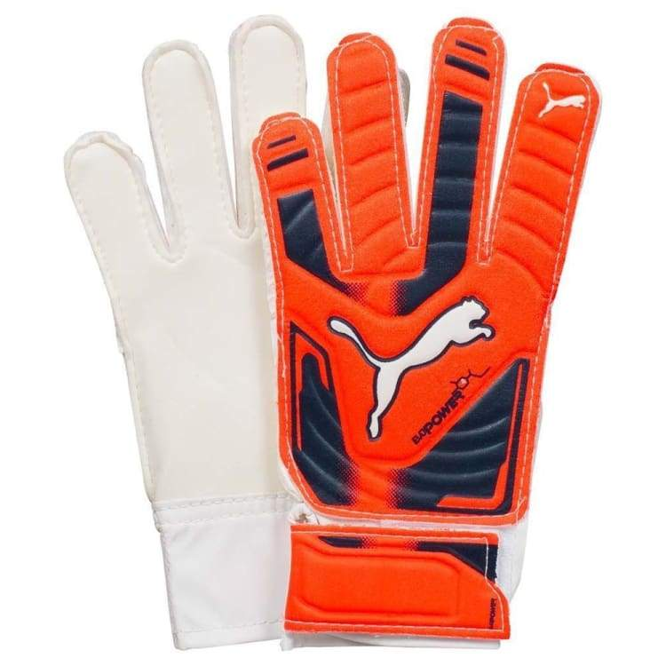 Gloves & Mittens / Soccer: Puma Evopower Grip 4 040983-30 - Puma / 4 / Orange / Accessories Gloves Gloves & Mittens Gloves & Mittens /