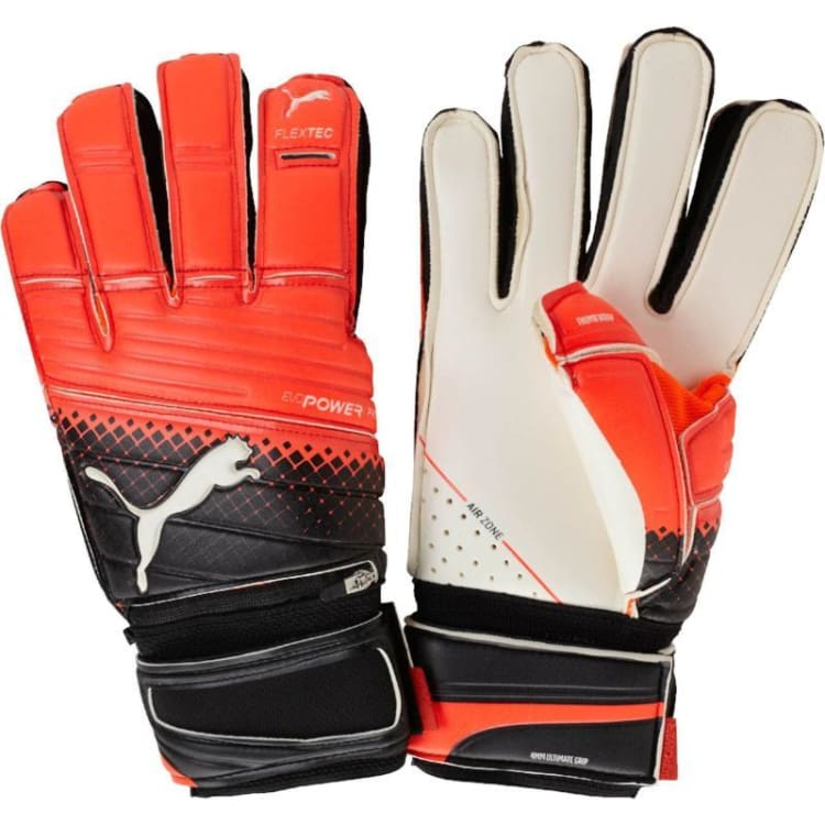 Gloves & Mittens / Soccer: Puma Evopower Protect 1.3 Rd-Wht 041216-20 - Puma / 8 / Red / Accessories Football Gloves Gloves & Mittens Gloves