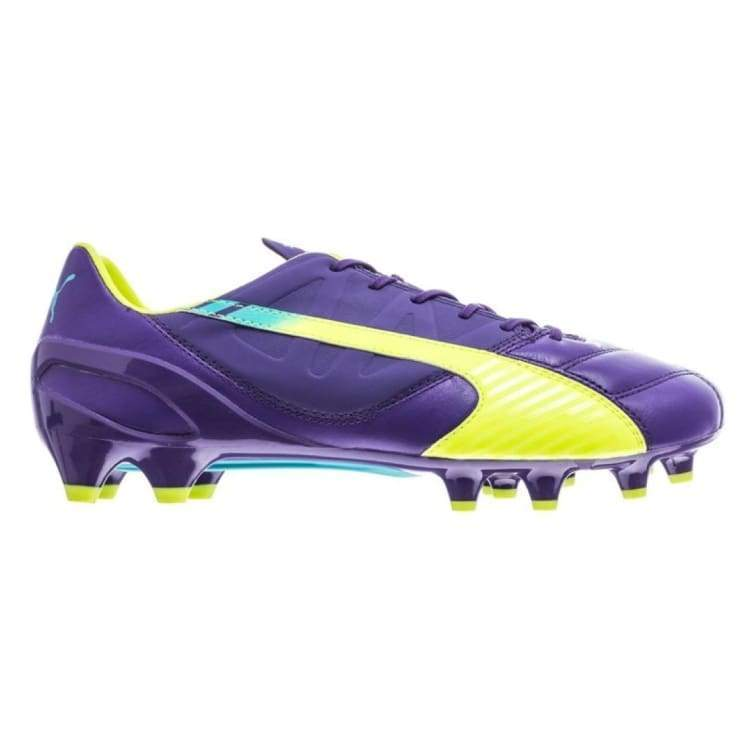 Cleats / Soccer: Puma Evospeed 1.3 Fg Prism Violet-Fluro 103008-01 - Uk: 7.0 / Puma / Cleats / Soccer Football Footwear Land Mens |