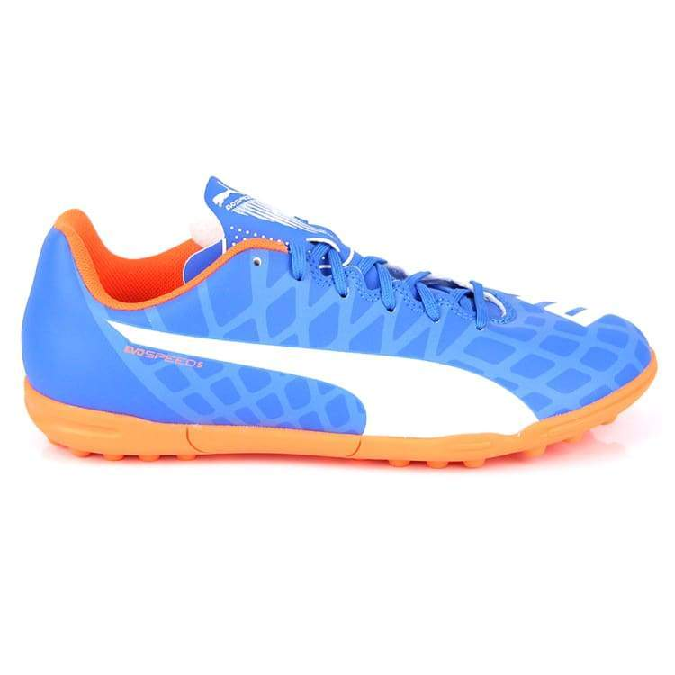 Cleats / Soccer: Puma Evospeed 5.4 Tt Bu 103283-03 - Puma / Uk: 7.0 / Blue / Blue Cleats / Soccer Football Footwear Land |
