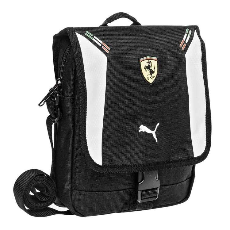 Bags / Shoulder: Puma Ferrari Replica Portable Black 071138-02 - Puma / Black / Accessories Bags Bags / Shoulder Black Land |