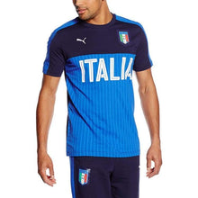 Jerseys / Soccer: Puma Figc Italia 2016 Fanwear Graphic 748826-05 - 2016 Clothing Fans Wear Football Italy