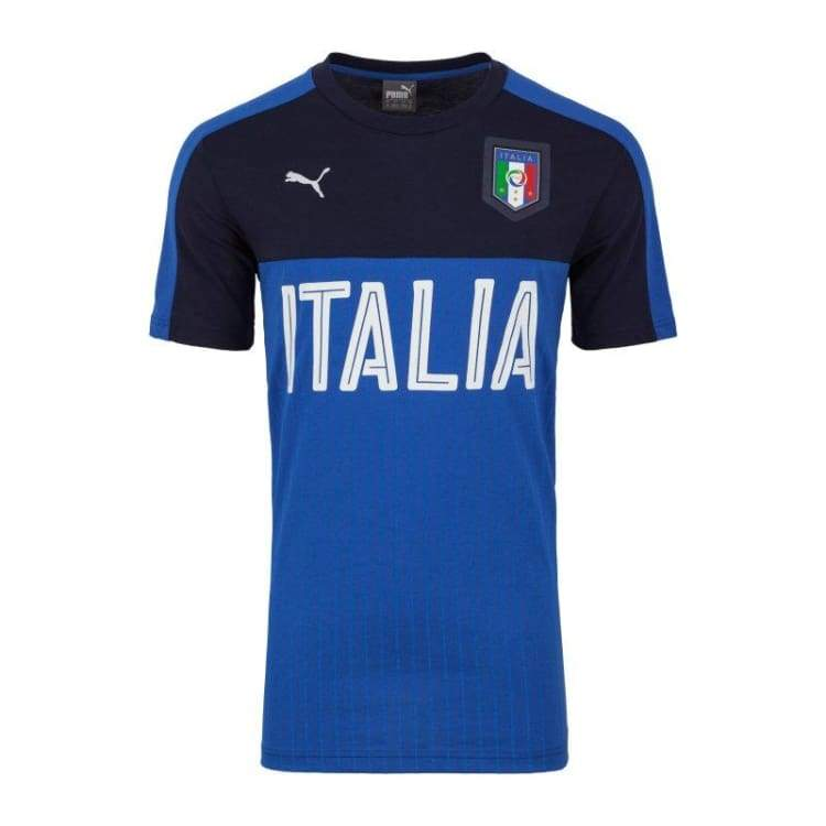 Jerseys / Soccer: Puma Figc Italia 2016 Fanwear Graphic 748826-05 - Xs / Puma / 2016 Clothing Fans Wear Football Italy |