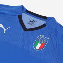 Jerseys / Soccer: Puma Figc Italia 2018 (Home) Jersey 752281-01 - 2018 Blue Clothing Football Home Kit
