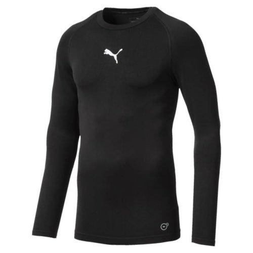 Base Layers / Top: Puma Ftblnxt Baselayer L/s 655808-01 - Puma / Xs / Black / Base Layers Base Layers / Top Black Clothing Football |