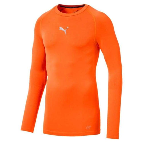 Base Layers / Top: Puma Ftblnxt Baselayer L/s - 655808-02 - Puma / S / Orange / Base Layers Base Layers / Top Clothing Football Land |