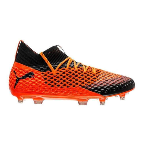 Cleats / Soccer: Puma Future 2.1 Netfit Fg/ag 104812-02 - Puma / Uk: 7.0 / Orange/black / Cleats / Soccer Football Footwear Land Mens |